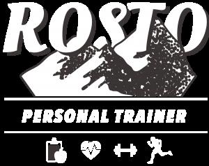 Logo Rosto Personal Trainer blanc
